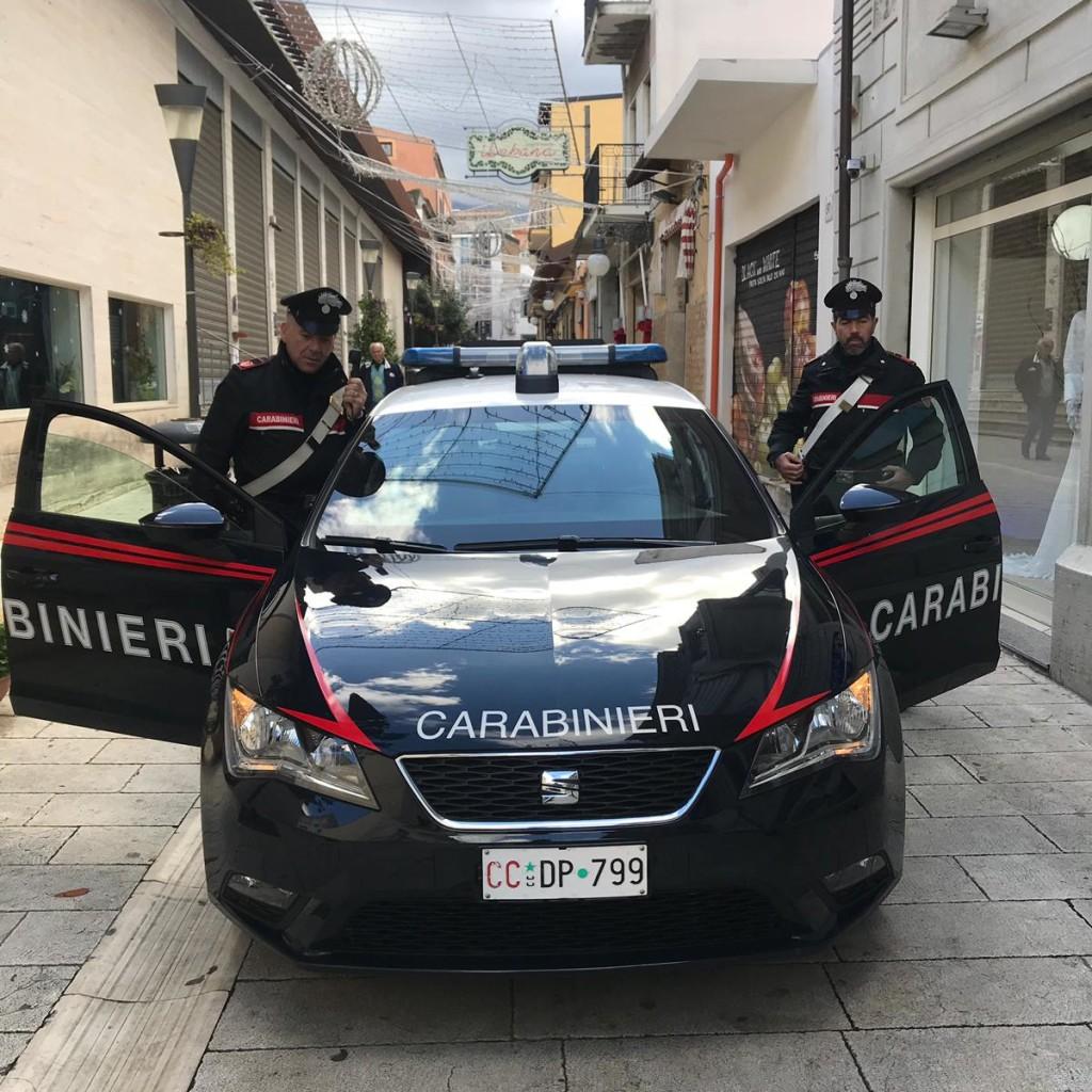 Barcellona P.G. (ME): i Carabinieri di Barcellona hanno arrestato quattro persone per estorsione ai danni di un commerciante