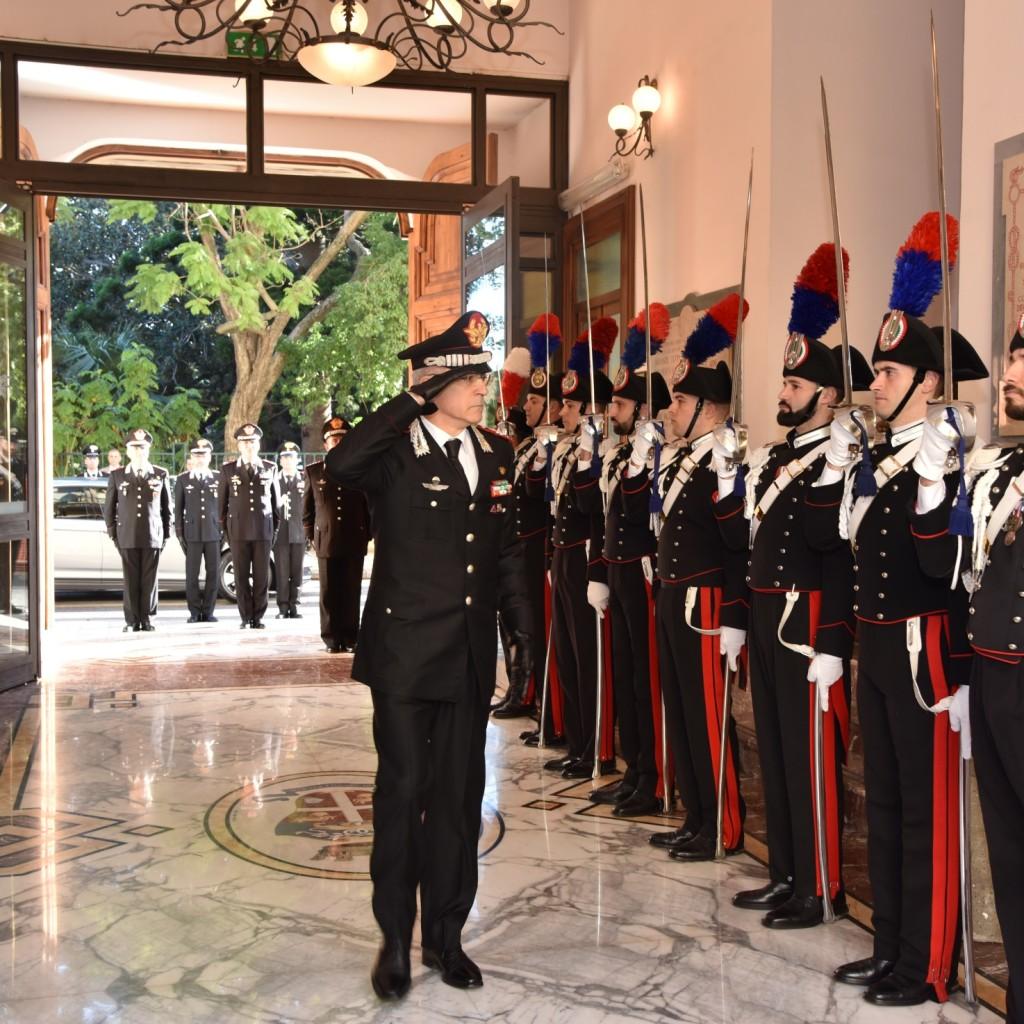 """Messina: Visita del Comandante Generale dell'Arma dei Carabinieri, Gen. C.A. Giovanni NISTRI al Comando Interregionale CC """"Culqualber"""""""