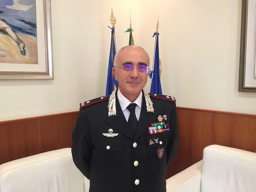 MATERA: IL GENERALE CASTELLO IN VISITA AL COMANDO PROVINCIALE DEI CARABINIERI