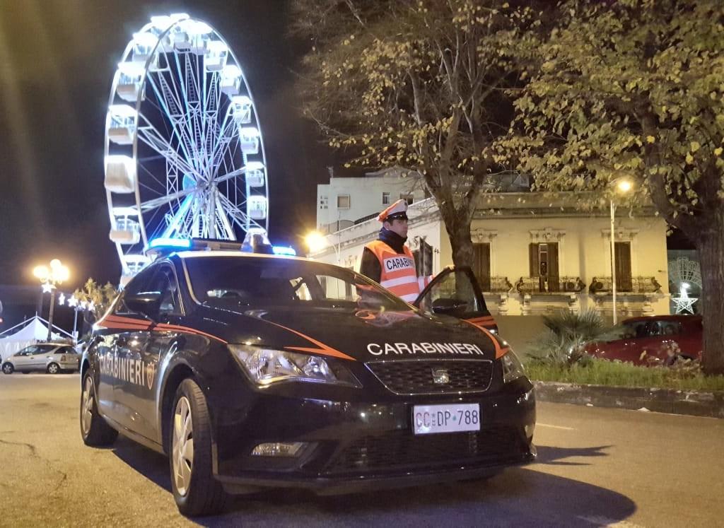 """Messina: Servizio Straordinario dei Carabinieri per la """"movida"""" messinese, 15 persone denunciate e 14 contravvenzioni elevate"""