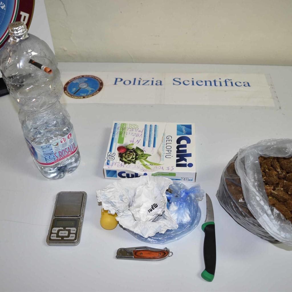 La Polizia di Stato di Messina arresta un trentasettenne per droga