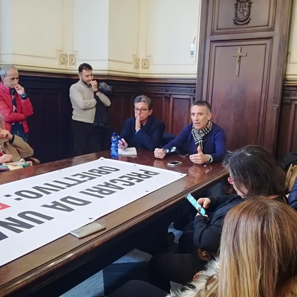 PRECARI CITTA' METROPOLITANA MESSINA: LE RASSICURAZIONI NON BASTANO