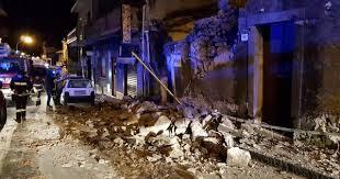 Etna, terremoto di magnitudo 4.8 a nord di Catania, danni e dieci feriti lievi