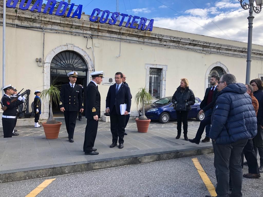 Il sindaco Formica di Milazzo incontra il sottosegretario agli Interni, Stefano Candiani