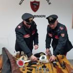 Militello Rosmarino (ME): i Carabinieri arrestano un uomo per detenzione illegale di armi clandestine