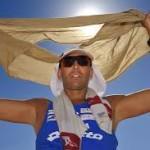 Paolo Venturini, Sovrintendente della Polizia di Stato, ha corso la distanza di km 39,120 da Tomtor ad Olymyakon ad una temperatura di – 52° C