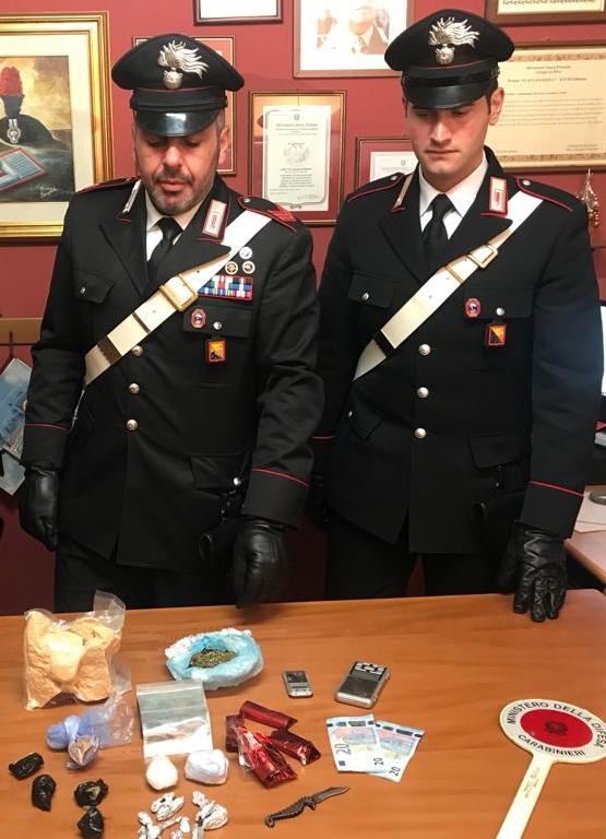Gaggi (ME): controlli antidroga. Deteneva 1 Kg. di marijuana: giovane pusher arrestato dai Carabinieri