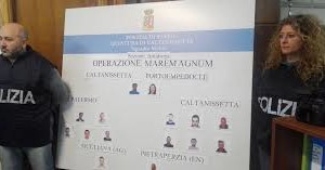 "Caltanissetta, operazione""Mare magnum"""