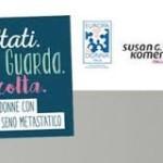 La Sicilia una delle tre tappe italiane del contest musicale  dedicato ai tumori al seno con testimonial Noemi