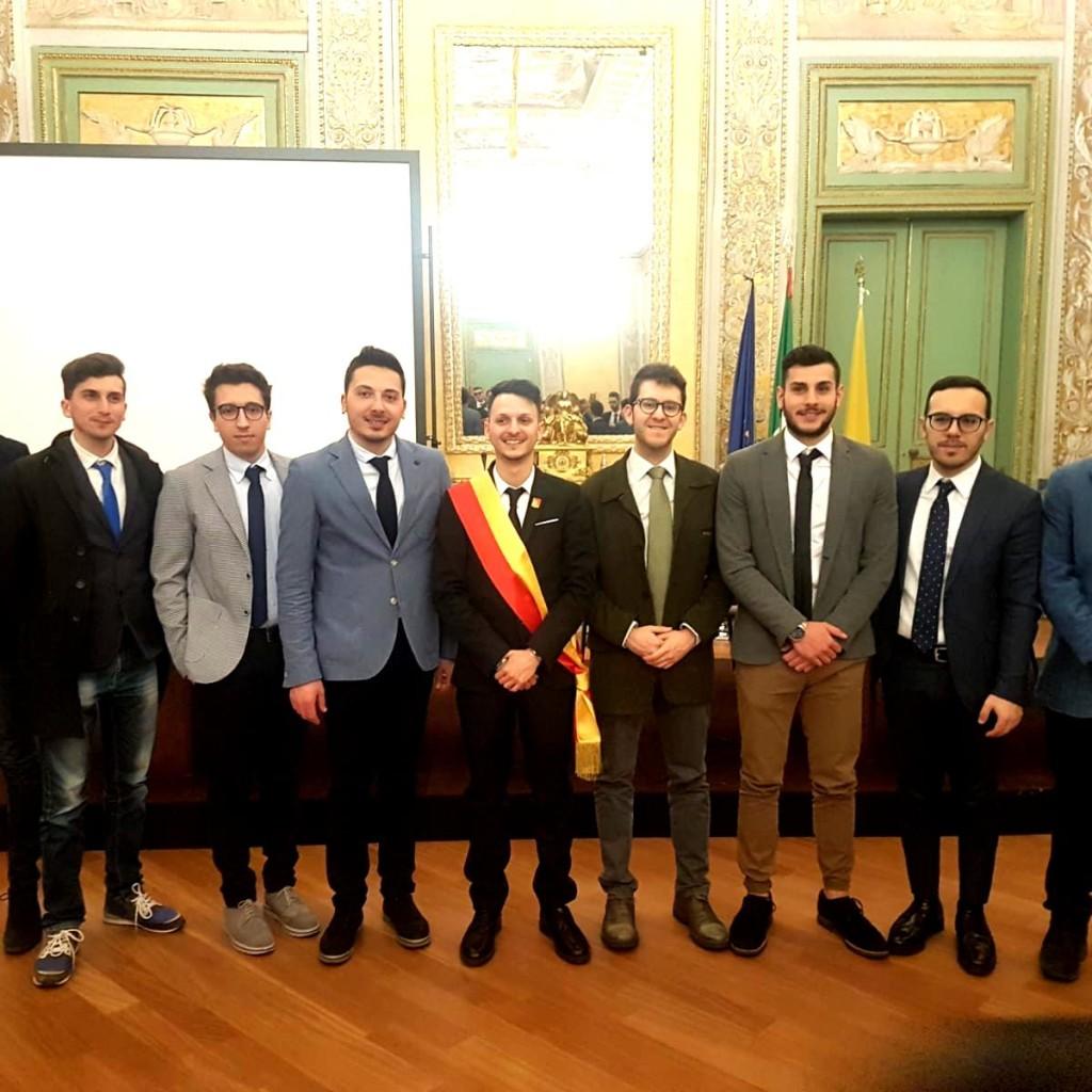 Primo Ufficio di Presidenza del neo-organo dei giovani (consulte)