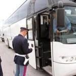 Savona. Fermato Autobus in Gita Scolastica con conducente in stato di ebrezza