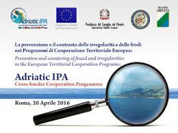 ROMA. PROGETTO IPA II – CONTRASTO ALLE FORME GRAVI DI CRIMINALITA' NEI BALCANI OCCIDENTALI