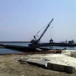 L'intervento di dragaggio del porto di Milazzo, opera attesa da molti anni, ha registrato ieri un importante passo avanti