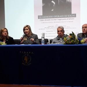 Al Majorana di Milazzo il tour dei festeggiamenti per il 60°anniversario del conferimento del premio Nobel al poeta Salvatore Quasimodo!