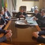 Palazzo dei Leoni, tavolo tecnico per sbloccare 5 milioni di euro destinati alla ricostruzione del ponte sul Mela e non utilizzabili per gli attuali problemi finanziari dell'Ente