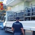 Scoperto deposito abusivo di materiale esplodente. Sequestrati 800 kg di bombole di GPL e denunciata una persona.