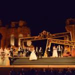 Si apre con La Traviata, il 22 luglio, la stagione del Mythos Opera Festival al Teatro Antico di Taormina. Grande l'attesa per il capolavoro di Verdi