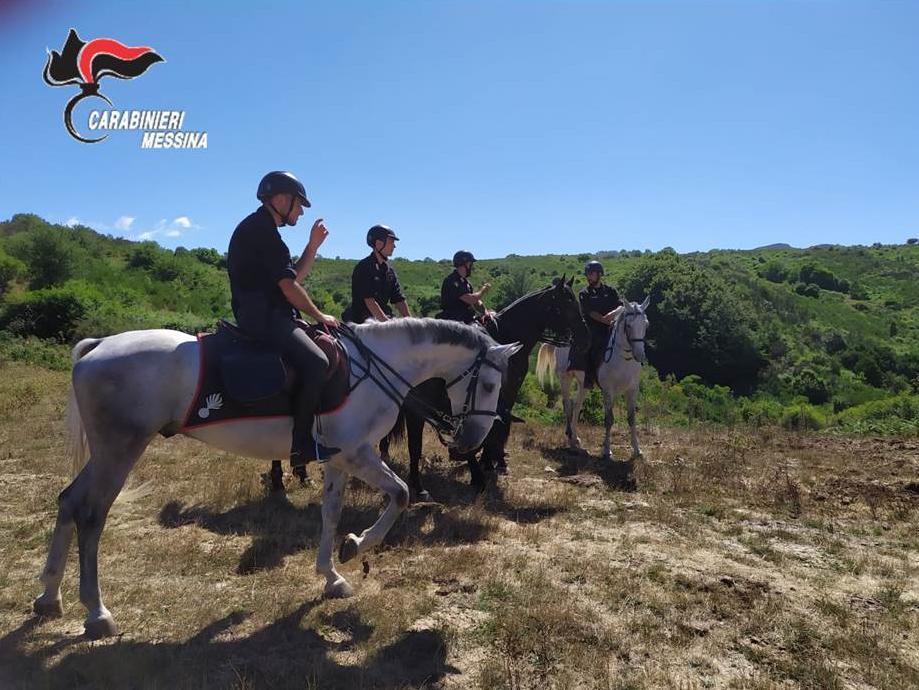 Parco dei Nebrodi (ME): Intensificati i servizi di prevenzione dei Carabinieri con l'ausilio del 4° Reggimento Carabinieri a Cavallo