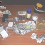 Torregrotta (ME): due giovani arrestati in flagranza dai Carabinieri per detenzione ai fini di spaccio di sostanza stupefacente.