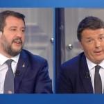 Duello Salvini – Renzi, chi ha vinto?