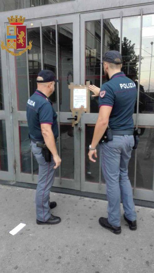 """Movida Messinese. La Polizia di Stato esegue decreto di sequestro preventivo della discoteca """"Centro Multiculturale Officina"""""""