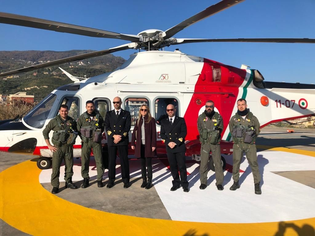 Attività della Guardia Costiera – Ricognizione aerea e subacquea del litorale di competenza, su delega della Procura della Repubblica di Patti
