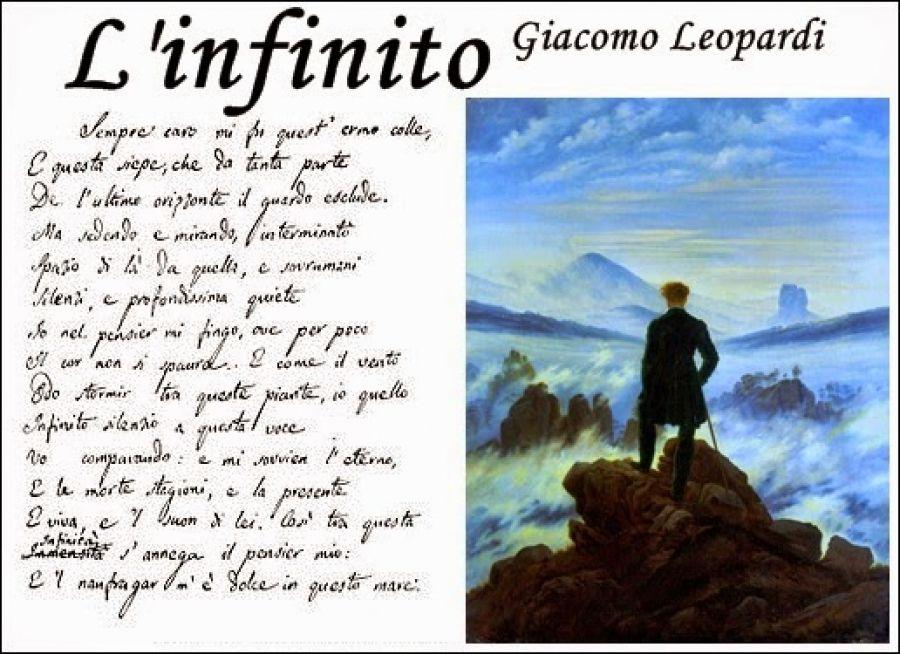 """""""L'infinito"""" e il suo significato leopardiano, al Caffè Letterario dell'Associazione Teseo"""