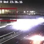 La Polizia di Stato di Novara arresta un soggetto per lancio di sassi: aveva scagliato da un cavalcavia dell'autostrada A/4 un masso di otto chili