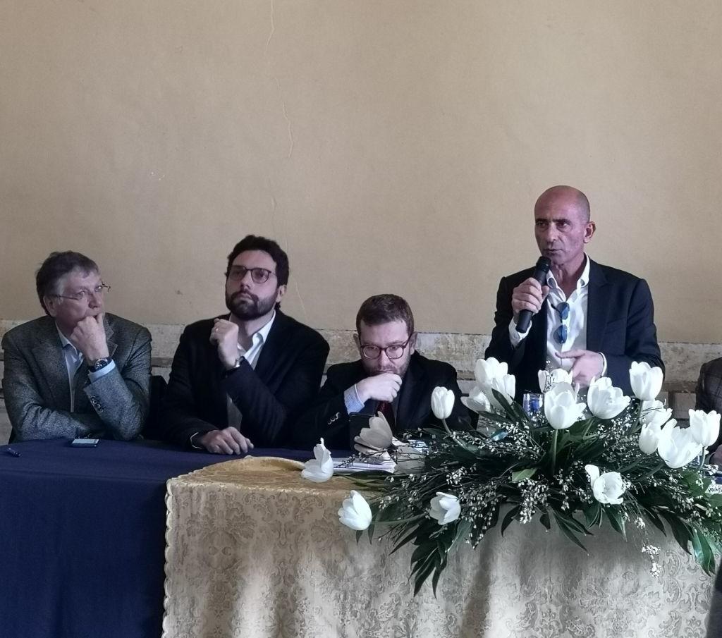 L'incontro a palazzo D'Amico col ministro Giuseppe Provenzano