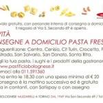 Il servizio domiciliare gratuito, del Pastificio Bolognese di Torino