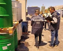 CARABINIERI NAS – Sequestrati alimenti non conformi. Attività sospesa per un'industria alimentare nel messinese