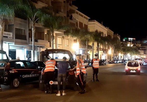 Milazzo: provoca un incidente sotto l'effetto dell'alcool, neopatentato denunciato dai Carabinieri
