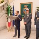 IL MINISTRO DELLA DIFESA, LORENZO GUERINI, IN VISITA AL COMANDO GENERALE DELLA GUARDIA DI FINANZA