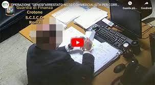 Operazione Genesi – Corruzione in atti giudiziari. Arrestato un noto commercialista di Cosenza.
