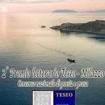 """PREMIO LETTERARIO  """"ASSOCIAZIONE CULTURALE TESEO""""- CONCORSO NAZIONALE  DI POESIA E PROSA -SECONDA EDIZIONE ANNO 2020."""