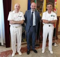 Visita del Direttore Marittimo della Sicilia Orientale, Contrammiraglio (CP) Giancarlo RUSSO, alla Capitaneria di Porto di Messina