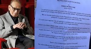 Ennio Morricone, poesia in musica