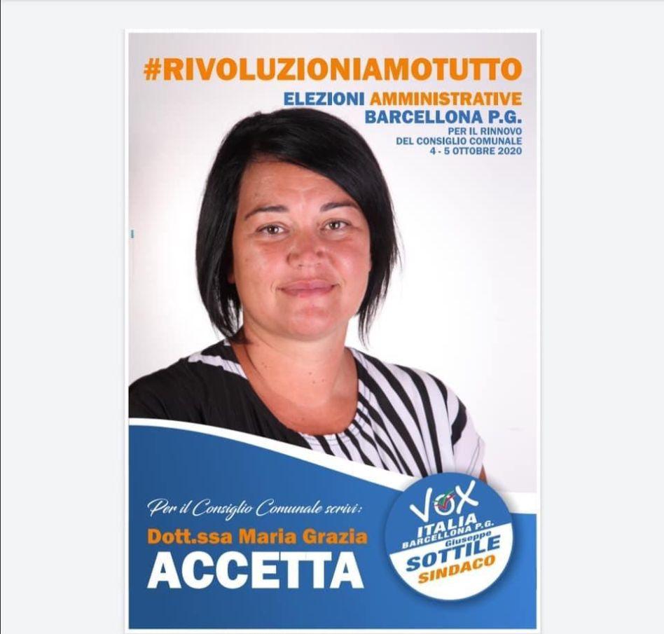 Maria Grazia Accetta, un medico con la voglia di migliorare la sua Barcellona P.G.