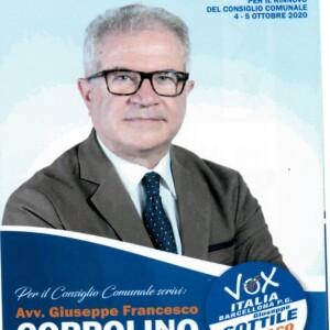 Elezioni comunali a Barcellona P. G. . VOX ITALIA presenta una propria lista col candidato a Sindaco Giuseppe Sottile. Candidato consigliere comunale l'avv. Giuseppe Francesco Coppolino