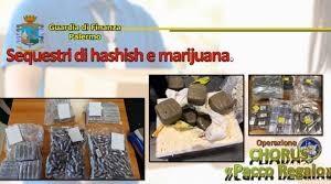 """PALERMO: OPERAZIONE CHORUS """"PACCO REGALO"""" – TRAFFICO INTERNAZIONALE DI DROGA. ESEGUITE DALLA GUARDIA DI FINANZA 9 MISURE CAUTELARI E SEQUESTRATI BENI PER 500 MILA EURO"""