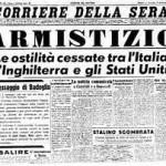 ACCADDE OGGI 8 SETTEMBRE 1943