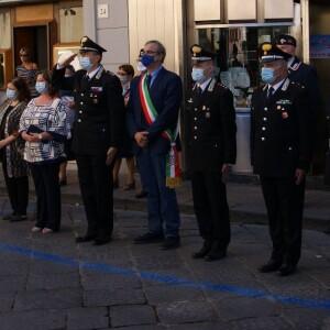 """Barcellona P.G. (ME): Commemorazione del Carabiniere Medaglia d'Argento al Valor Civile """"alla memoria"""" LA SPADA Pantaleo Mario"""