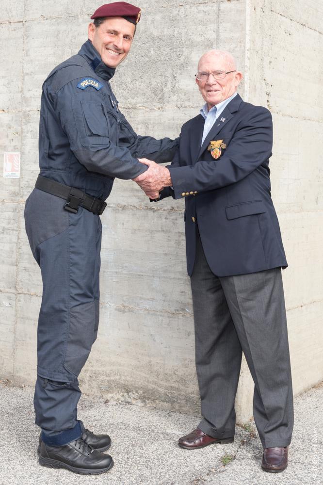 Terrorismo: generale Dozier in visita a Nocs  (ANSA) – ROMA, 31 OTT