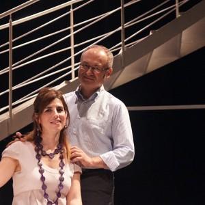 Il regista Giulio Graglia e la scrittrice Sabrina Gonzatto